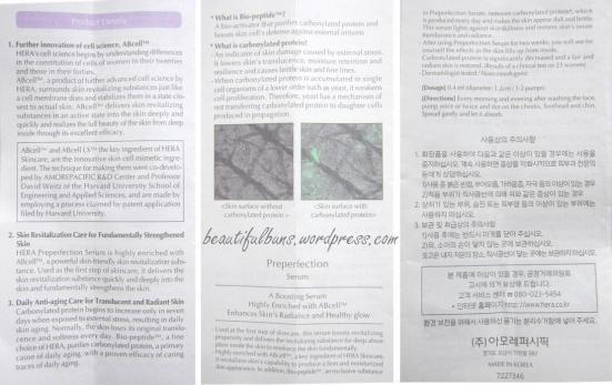 Hera Preperfection Serum (5)