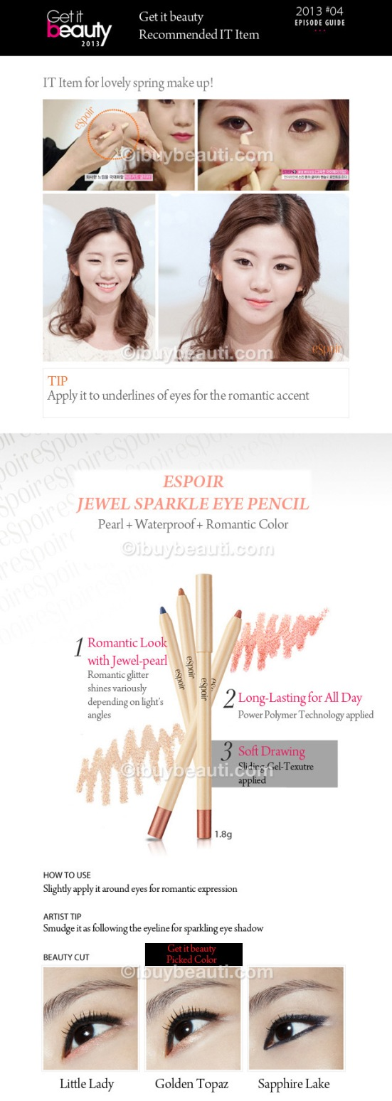 Espoir Jewel Sparkle Eye Pencil info