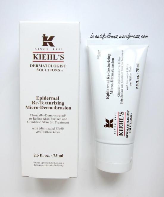 Kiehls Epidermal Retexturizing Microdermabrasion
