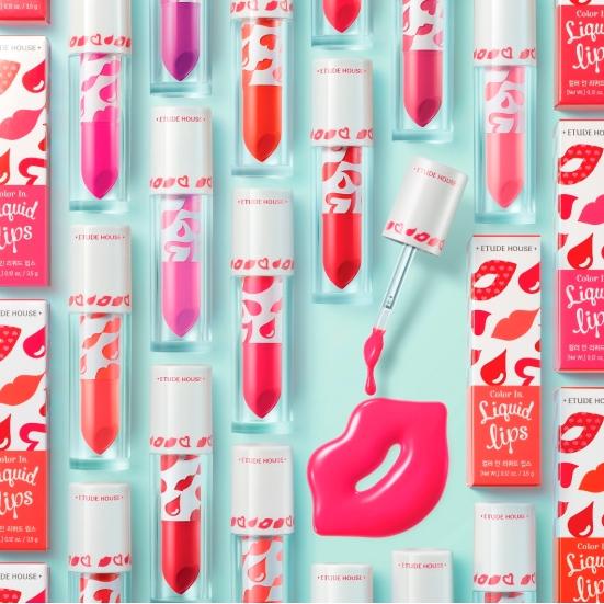Etude House Color Liquid Lips colours poster 2