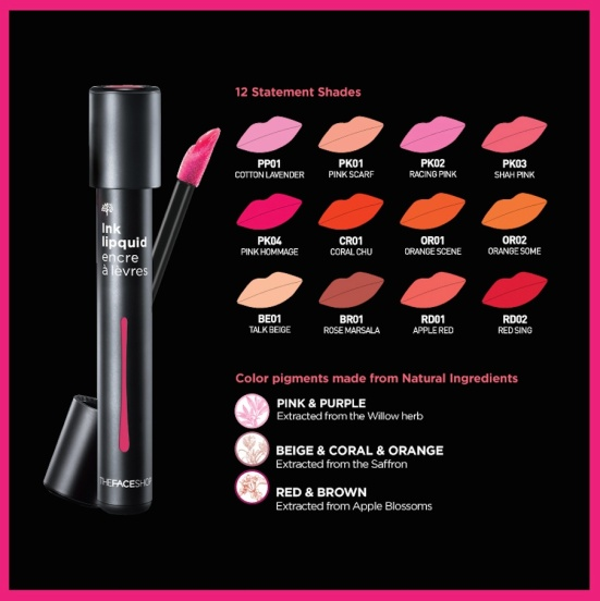 The Face Shop Ink Lipquid 3