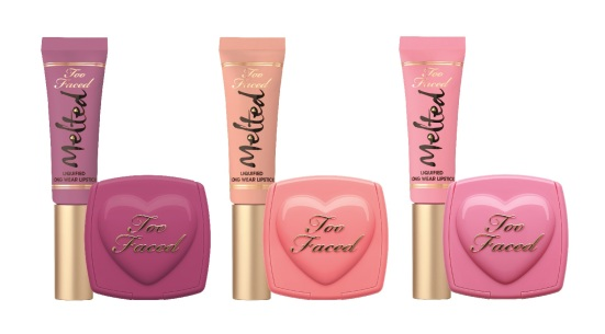 Too Faced Melted Kisses & Sweet Cheeks, $50 - ind
