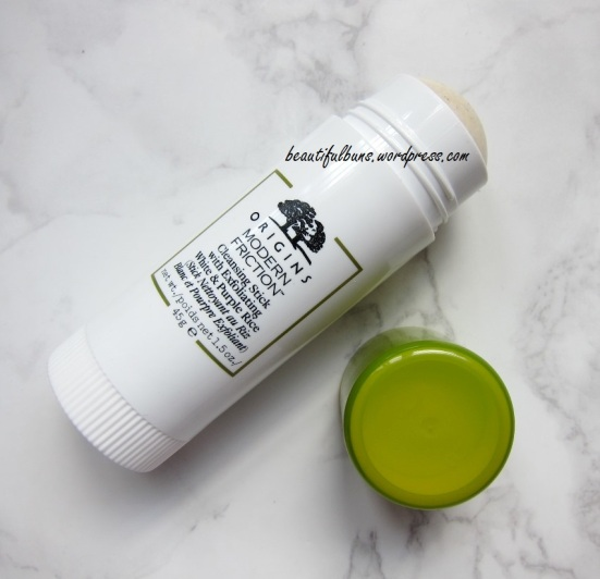 Review Origins Modern Friction Cleansing Stick With